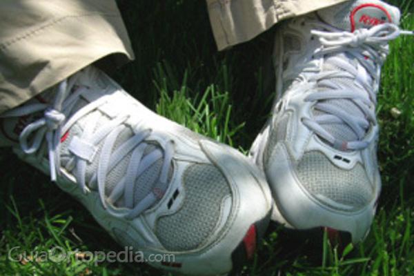 Las zapatillas, sólo para el deporte