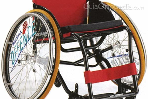 Material ortopédico para deportistas